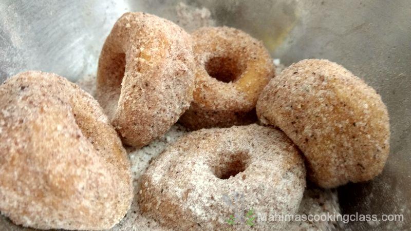 cinnamon sugar doughnut