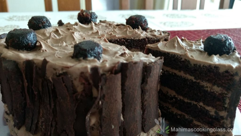 Devilled Chocolate Cake